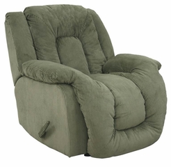 Summit Viva Moss Upholstered Rocker Recliner - 65045100021