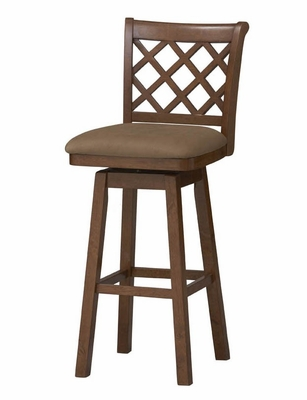 Sussex Wood Swivel Stool 30