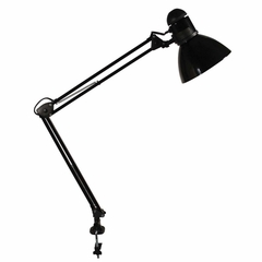 Swing Arm Lamp - Black - LEDL502BK