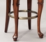 "Swivel Armless Bar Stool - Jamestown Landing ""Deep Cherry"" - Powell Furniture - 987-729"