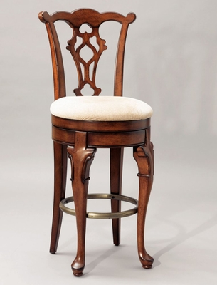 Swivel Armless Bar Stool - Jamestown Landing