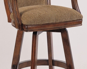 "Swivel Bar Stool - Brandon ""Warm Cherry"" - Powell Furniture - 429-432"