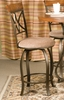 Swivel Counter Stool - Hamilton - Powell Furniture - 697-726