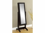 Swivel Mirrored Jewelry Cheval with Storage - 901766