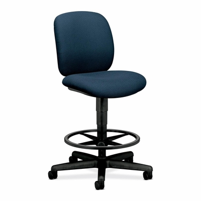 Swivel Pneumatic Task Stool - Blue - HON5905AB90T