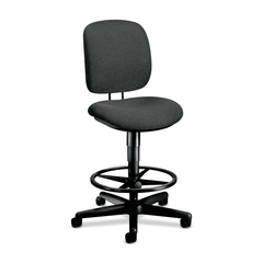 Swivel Pneumatic Task Stool - Gray - HON5905AB12T
