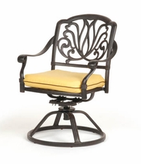 Swivel Rocking Chair and Cushion (Set of 2) - Florence - Caluco - C777-11-SET
