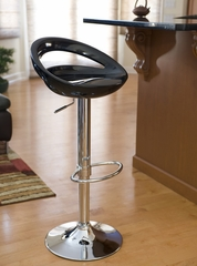 Swizzle Barstool Black - LumiSource - BS-TW-SWZL-BK