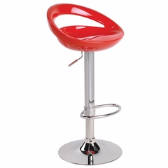 Swizzle Barstool Red - LumiSource - BS-TW-SWZL-R