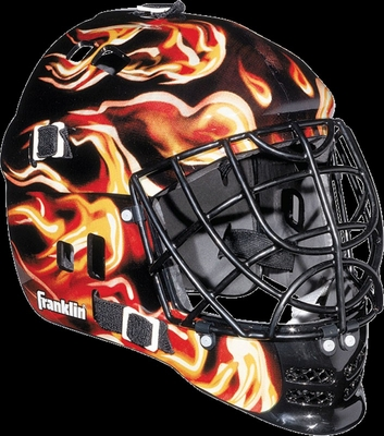 SX COMP Goalie Face Mask 100 Inferno - Franklin Sports