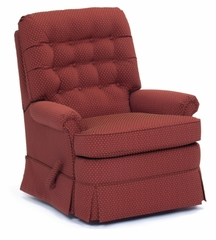 Symphony Wall Lounger Recliner in Seasons Marsala - 47002200125