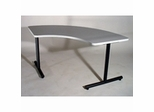 T-Mate in Nebula Gray by Mayline Office Furniture