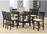 Tabacon 7-Piece Counter Height Dining Room Furniture Set - Hillsdale Furniture - 4155DTBGS7