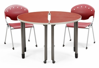 Table and 4 Chairs Set - OFM - LSET-10