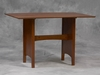 Table For Nook Set in Cherry - Linon Furniture - 90471T37-01-KD