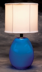 Table Lamp - Glow Melon Lamp in Blue - LumiSource - LS-GLOW-MELON-B