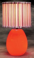 Table Lamp - Glow Melon Lamp in Red - LumiSource - LS-GLOW-MELON-R