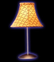 Table Lamp - Retro Lamp in Mango - LumiSource - LS-RETRO-MANGO