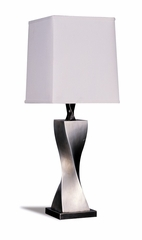 Table Lamp (Set of 2) in Silver / White - Coaster - 1497-SET