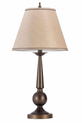 Table Lamp with Beige Shade - Set of 2 - 901254