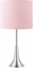 Table Lamp with Polka-Dotted Shade - 901494