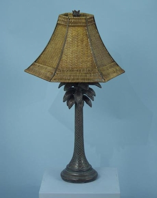 Table Lamp with Rattan Shade - Style Craft - PT2957