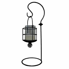 Table Lantern - Black - Pangaea Home and Garden Furniture - SI554-5-K