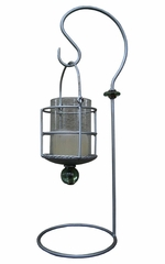 Table Lantern - Pewter - Pangaea Home and Garden Furniture - SI554-5