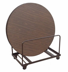 "Table Truck for 48"" and 60"" Round Tables - Edge Stack 24"" x 48"" - Correll Office Furniture - T6060"