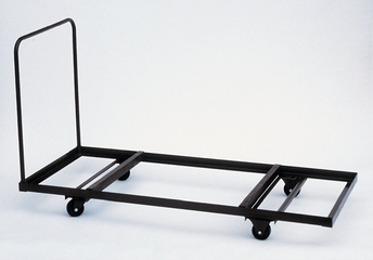 "Table Truck for Rectangular Tables - Flat Stack 30"" x 96"" - Correll Office Furniture - T3096"