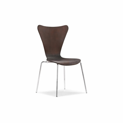 Taffy Dining Chair in Wenge - Set of 4 - Zuo