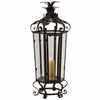 Tall Black Iron Candleholder - IMAX - 16124