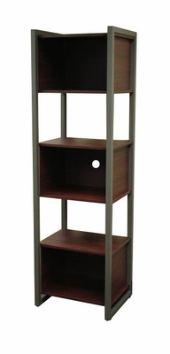 Tall Bookcase in Medium Cherry - Barker Collection - RiverRidge - 05-008