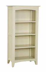 Tall Bookcase in Sand - Shaker Cottage - Alaterre - ASCA08SA
