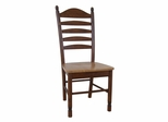 Tall Ladderback Chair (Set of 2) in Cinnamon / Espresso - C58-271P