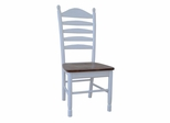 Tall Ladderback Chair (Set of 2) in Heritage Pearl / Oak - C60-271P
