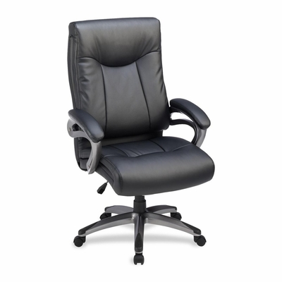 Tall Office Chair  - Black - LLR69516