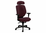 Tall Office Chair - Claret/Black Frame - HON6211BW69T