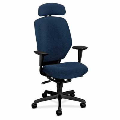 Tall Office Chair - Navy/Black Frame - HON6211BW90T