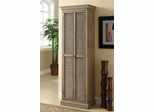 Tall Storage Cabinet in Antique Oak - 950109