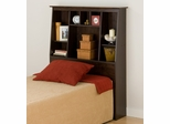 Tall Twin Size Bookcase Headboard - Prepac Furniture - ESH-4556