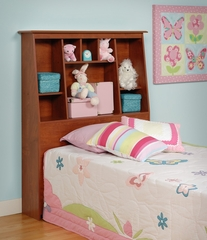 Tall Twin Size Headboard in Cherry - Prepac Furniture - CSH-4556
