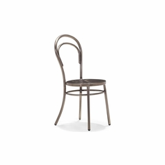 Talus Dining Chair in Gunmetal - Set of 2 - Zuo
