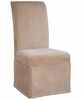 "Tan Chenille Skirted ""Slip Over"" (Fits 741-440 Chair) - Powell Furniture - 741-204Z"