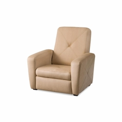 Tan Gaming Chair and Ottoman - Home Styles - HS-5252-513