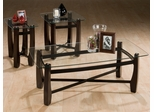 Tania 3PC Accent Table Set in Espresso - 186