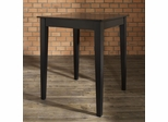 Tapered Leg Pub Table in Black Finish - Crosley Furniture - KD20002BK