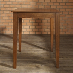 Tapered Leg Pub Table in Classic Cherry Finish - Crosley Furniture - KD20002CH
