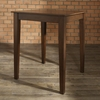 Tapered Leg Pub Table in Vintage Mahogany Finish - Crosley Furniture - KD20002MA