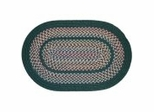 Tapestry Hunter Green Braided Rugs - Rhody Rug